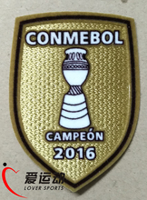 2016 Chile Copa America 2016 CONMEBOL Campeon 2016 soccer patch Chile national team Champion patch free shipping(China)