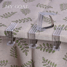 Tablecloth Clips Holder Stainless Steel Tables Useful  4PCS Cloth Clamps Party Picnic Wedding Partty Supply