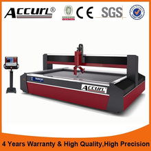 ACCURL China supplier mini Water jet cutting machine waterjet glass stone metal cutting(China)