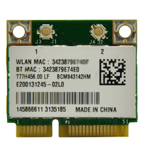 NEW Broadcom BCM943142HM 300Mbps PCi-E WiFi Adapter Mini PCi Express WiFi with Bluetooth 4.0 Adapter for for Laptop PC