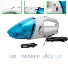 free shipping 12V 60W Car Vacuum Cleaner  Wet & Dry Handheld Portable Mini  portable cleaner    portable cleaner