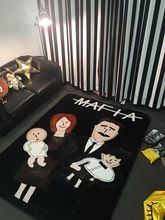 New Mats Rugs Carpet family Mafia family pad cloud mink cashmere bedroom carpet slip Infant Baby crawling pad(China)