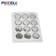 12 X PKCELL 3V CR3032 Lithium Battery BR3032 DL3032 Button Cell Batteries UK Stock