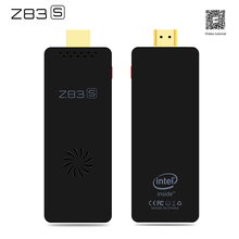 Z83S Mini Intel Atom X5-Z8350 Quad-core 4K 64 Bit Support Windows 10 system and Linux system 10 2.4G + 5.8G WiFi BT4.0 PK MK808B
