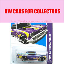 2013 New Hot 1:64 Cars wheels Purple Litter car Models Metal Diecast Car Collection Kids Toys Vehicle  Juguetes