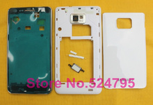 Free shipping housing for s2 i9100 full housing cover case with buttons replacement
