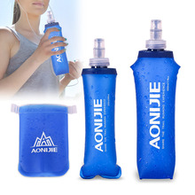 Portable 170ml 250ml 500ml Outdoor Camping Foldable TPU Water Bag Soft Flask Squeeze for Sport Running Cycling Drink Water Bags