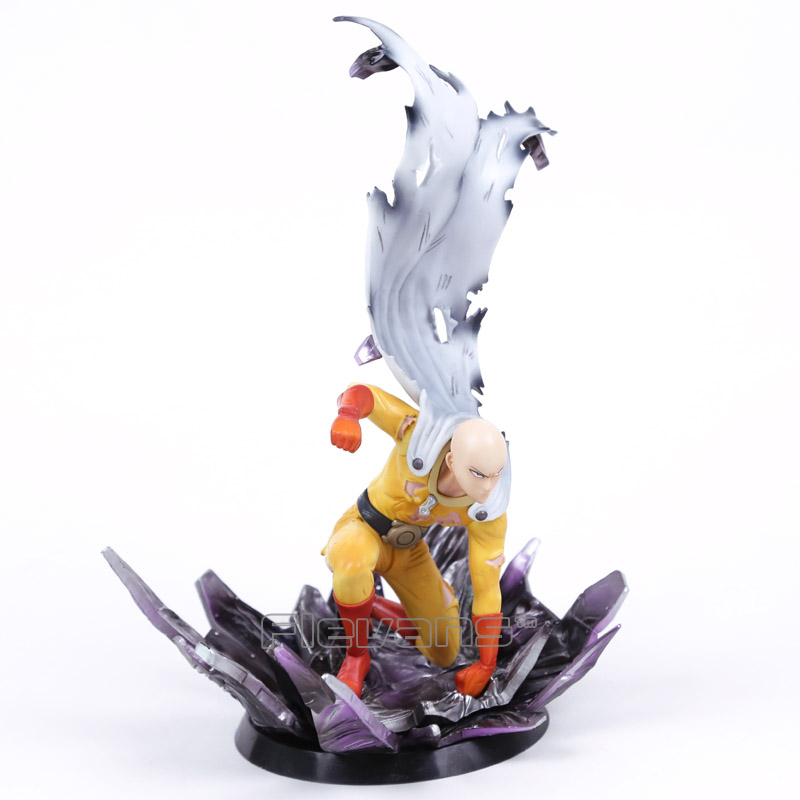 Anime ONE PUNCH MAN Saitama Resin Figure Collectible Model Toy 24.5cm<br>