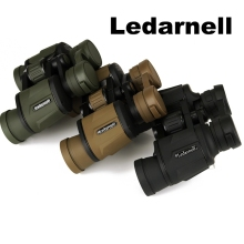 Ledarnell Powerful Binoculars 8x40 Vision Hunting Sport Telescopio High Quality Telescope Long Range Outdoor(China)