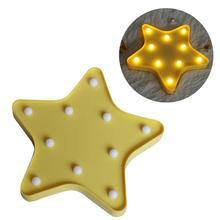 10 LEDs Star Shaped Light LED Lamp Night Light Battery Operated For Christmas Home Wedding Party Decoration