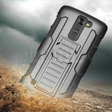 3in1 Heavy Duty Military Armor Case Holster Belt Clip Shockproof Protective Cover For LG K4/Optimus Zone 3/Spree/K7/K8/K10/M1/M2
