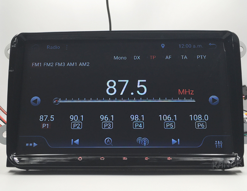 vw car radio 4