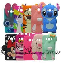Case coque Samsung Galaxy J7 2016 Cover J710 J710F J710H 3D Cute Cartoon Stitch - Mobile Phone and Retail Center store