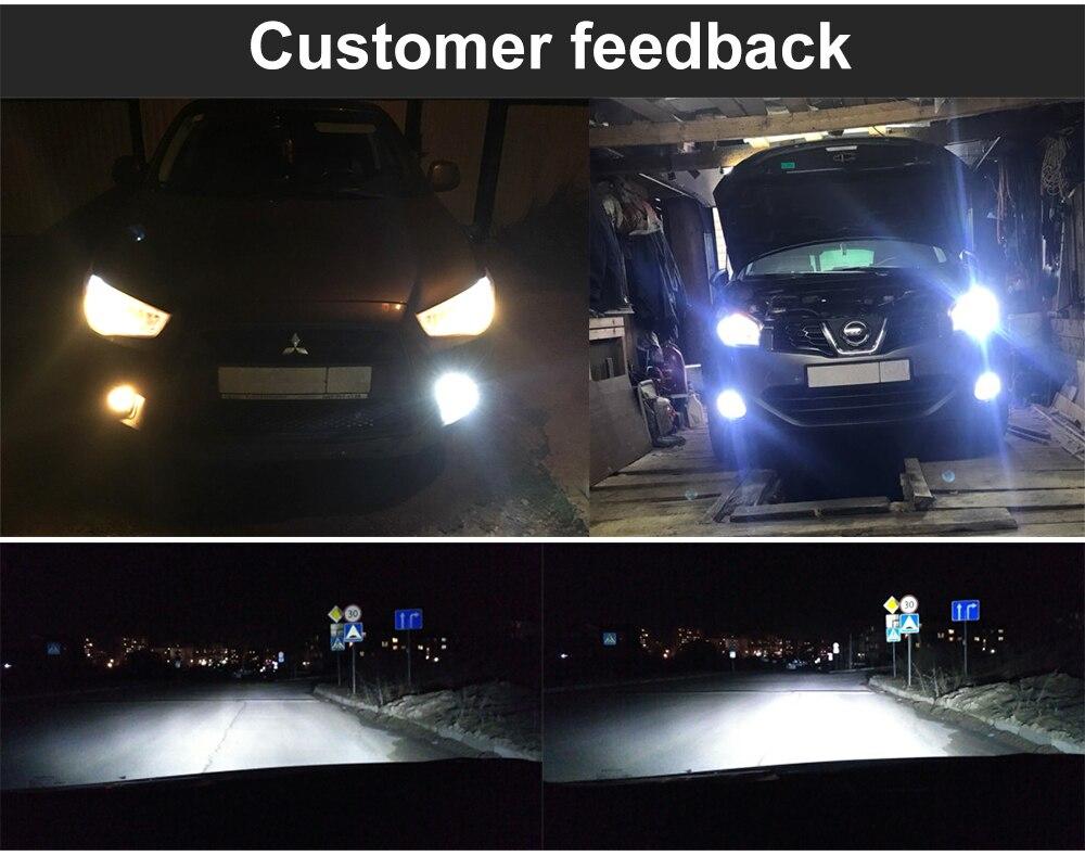 Green L Led Headlight Bulbs H1 H3 H4 H7 H11 H13 H27 880 9004 9005 Relay Wiring Harness For Fog Light Drl Head Lamp Ebay Qa