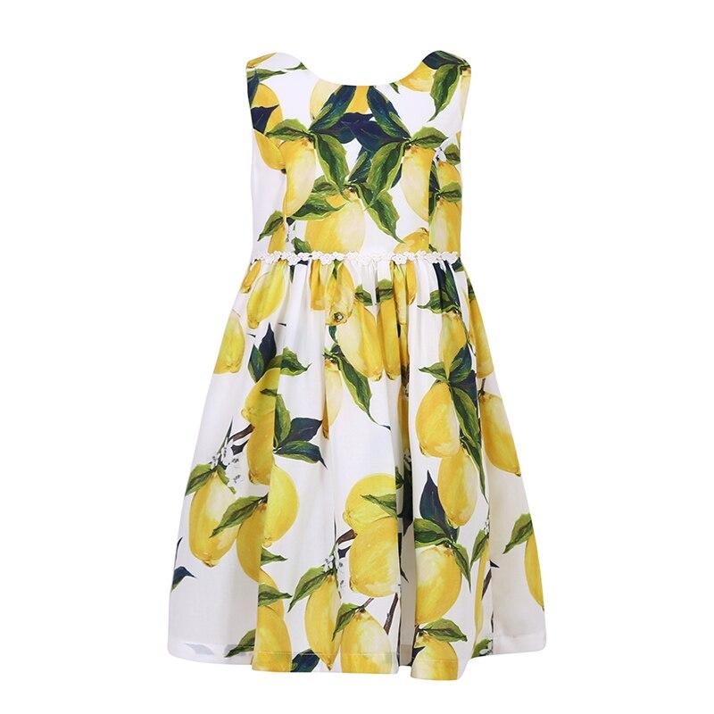 Cotton  Girl Dress Kids 2017 Summer New Embroidered Children Clothes  Princess Korean Cute Dress 2<br>