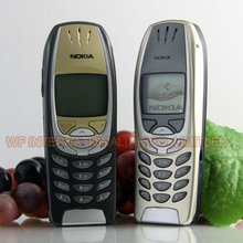 Original NOKIA 6310 Mobile Phone 2G GSM Unlocked Dual-Band Gold & Can't use in US(China)