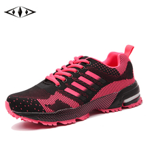 Leisure Newest Womens Sport Sneakers Autumn Damping Outdoor Running Shoes Breathable Lady Jogging Shoes Size EU36-44 8701/2W