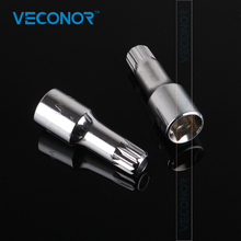 "Veconor 1/2"" Drive Oil Pan Drain Plug Screw Bolt Star Tamper Proof Socket Tool M16 for VW Audi(China)"