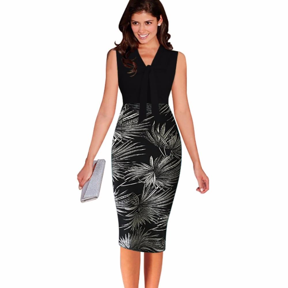 Detail Feedback Questions about Office Dress Summer 2019 High ... fbd85e6c6fb0
