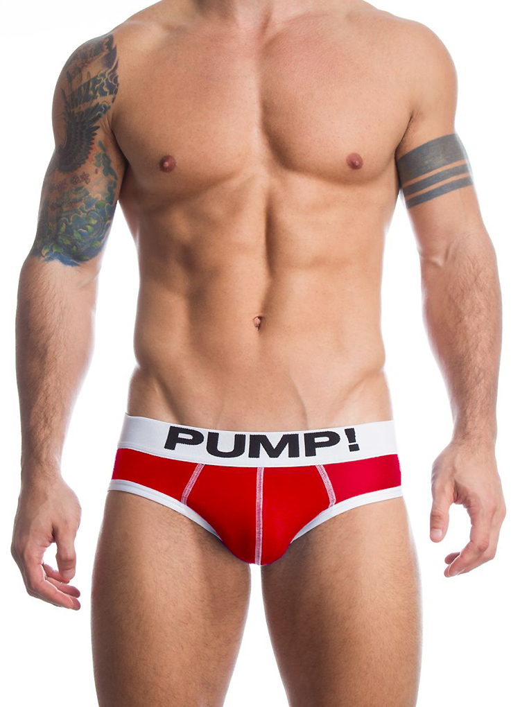 PUM! Brand Men Underwear Briefs high quality Cotton sexy Men Bikini Gay penis pouch gay underwear calzoncillos hombre slips 6