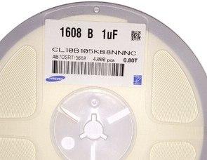 4000pcs/lot CAP CER 1UF 25V 10% X7R 0603 105K 1000NF New and original In Stock CL10B105KA8NFNC<br><br>Aliexpress