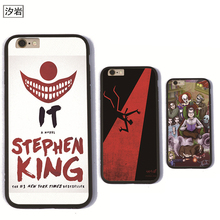 TPU+PC black phone cases STEPHEN KING IT cover for iPhone 6 7 plus 5 5s se for apple cool cheap cell phone covers(China)