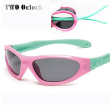 TWO Oclock Kids Baby Safety Polarized Sunglasses TAC Child Sun Glasses Girl Boys Outdoor Goggles Polaroid Sunglass Infant S873