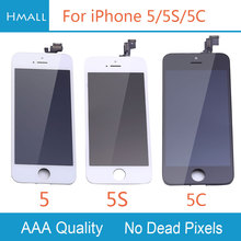 Grade AAA for iPhone 5 5S 5C LCD Display with Touch Screen Digitizer Assembly Replacement White/Black for iPhone5 5G 5S 5C LCD