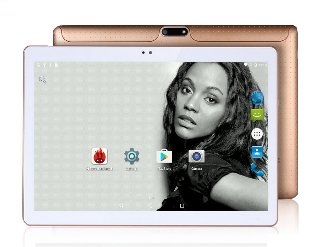 2017 Android tablet 10 inch Octa Core 3G Phone Call 4GB RAM 32GB ROM 1280*800 IPS Dual Cameras Android 5.1 GPS Tablets 10 10.1(China (Mainland))