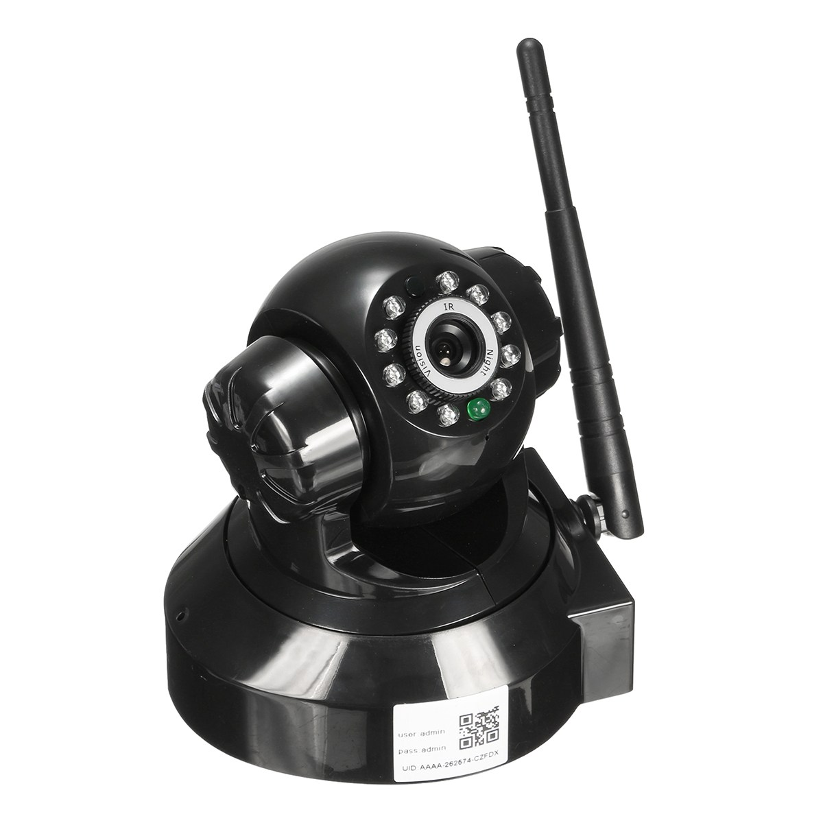 NEW Safurance Wireless HD 720P P2P WiFi Network Home Security Surveillance Pan Tilt IP Camera Safety<br>