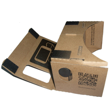DIY Cardboard Valencia Quality 3D TV Video Virtual Reality Glasses For Google 4-7 Inch Screen CellPhone For iPhone For Samsung
