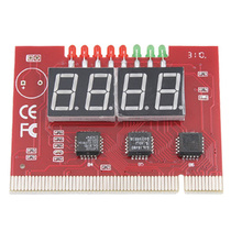CAA-Hot New Hot Sale 27g 4-Digit PC Mainboard POST Diagnostic Analyzer Test Card