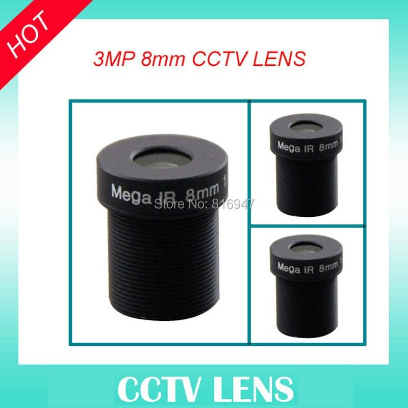 HD 8mm cctv lens fixed iris 1/2.5 F1.6 M12 mount, 3 mega pixel lens camera lens cctv, ricom ir lens<br><br>Aliexpress
