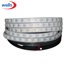 5 Meters Individually Addressable Color WS2812B Waterproof 5050 SMD RGB WS2811 LED Strip 60 LEDs/M DC 5V