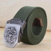 Buy latest mens belts luxury Automatic buckle canvas belt Casual Brand Men's Belts Army fans braided belt leisure tooling for $8.99 in AliExpress store