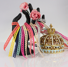 0.8cm 20 colors cotton lace trim DIY clothing/garment/bedding accessories lace,cotton lace,hat decoration lace trim manufacturer(China)