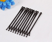Hot sale Professional makeup hair maker accessory round toe black hair clip and metal bobby pins Tool Tools