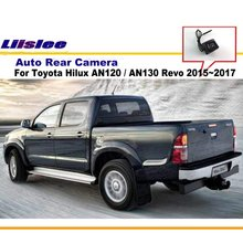 For Toyota Hilux 2010 ~2017 / Car Rear View Camera / Parking Reverse Camera / HD CCD RCA NTST PAL / Back Reverse Hole OEM