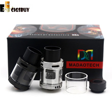 Original AIR FORCE ONE V2 RDA Atomizers Vapor Rebuildable Airflow Control PEEK Insulators With Wide Bore Drip Tips Fit Box Mods