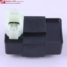 ATV GY6 50 GY6 125 GY6 150 139QMB 152QMI 157QMJ 6 pin CDI unit, AC fired, Variable ignition Angle(China)