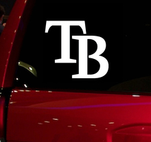 Rays TB baseball game Auto Window Sticker Decal for Car Truck Suv Decal 5.5'' Car Window Vinyl Die Cut Sticker White