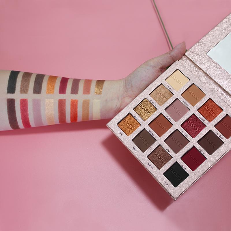 IMAGIC Nouvelle Arrivée Charme 16 Couleur Palette Make up Poudre 5