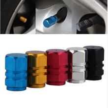 New 2017 Red Black Blue Silver Car-Styling Valve Stem Sticker For Ford focus 2 3 Fiesta C-Max KA GALAXY Kuga  Car Accessories