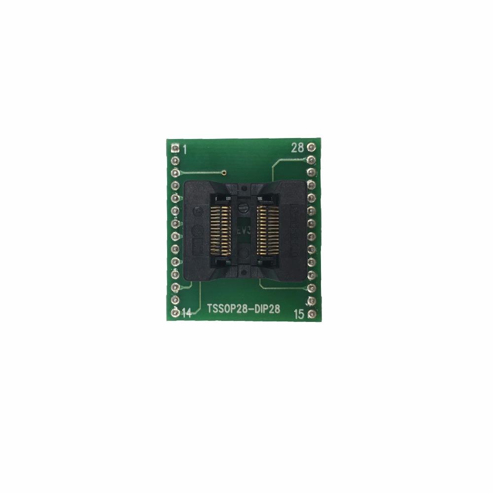 rt809h SOP28 to DIP28 Adapter Socket IC SOIC28 to DIP28 SOP16 to DIP16 SOP20 to DIP20 IC test programmer socket adapter