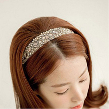 1Pcs  Lovely Women Girls Crystal Headband Head Piece Hair Band Jewelry Hot Sale