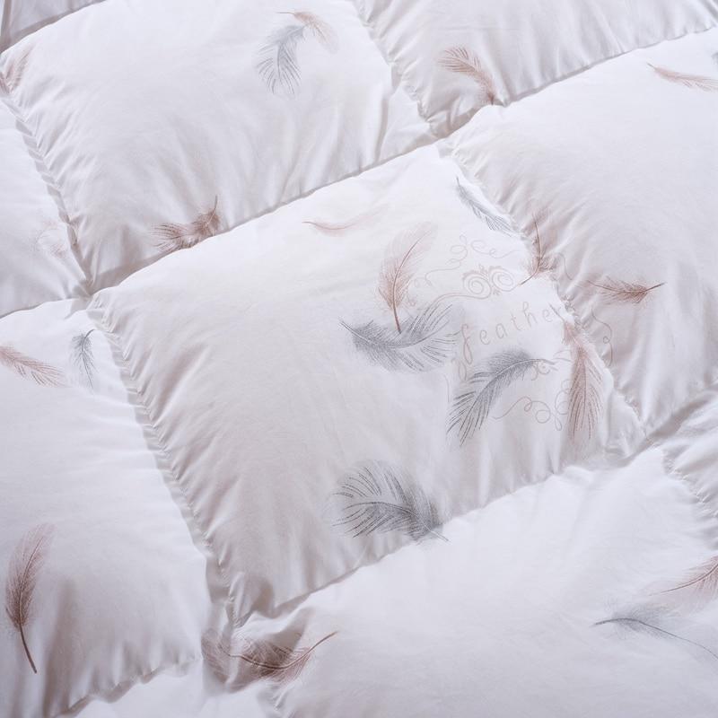 100% white Goose Down, Quilt, Comforter Blanket Duvet 19