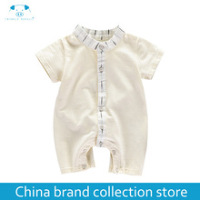 baby clothes summer newborn boy girl clothes set baby fashion infant baby brand products clothing bebe body bebe MD170X044(China)