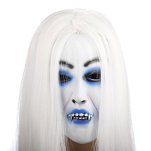 1Pc Horrible Creepy Toothy Ghost Mask,Halloween Costume Prop Latex Rubber Halloween Mask Masquerade Masks Hot Selling GI871477