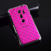 Bling Crystal Diamond Star hard case back cover For funda HTC EVO 3D G17 cell Phone Case copue