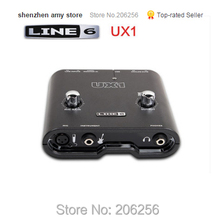 Fine Promotions LINE6 POD Stidio UX1 professional audio interface sound card for electric guitar bass recording Bass Sound Card(China)